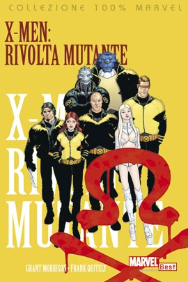 100% MARVEL X-MEN 1/5 - Completa - Morrison & Quitely