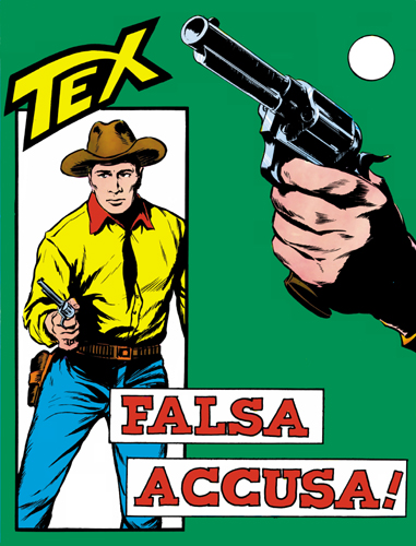 Tex Gigante n. 37 - Falsa accusa