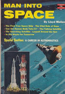 Man into space by Lloyd Mallan