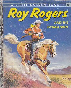Toy Rogers and the indian sign - Edizione del 1956