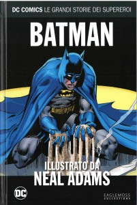DC COMICS – LE GRANDI STORIE DEI SUPEREROI 58 BATMAN ILLUSTRATO