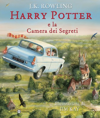 Harry Potter e la camera dei segreti - illustrato