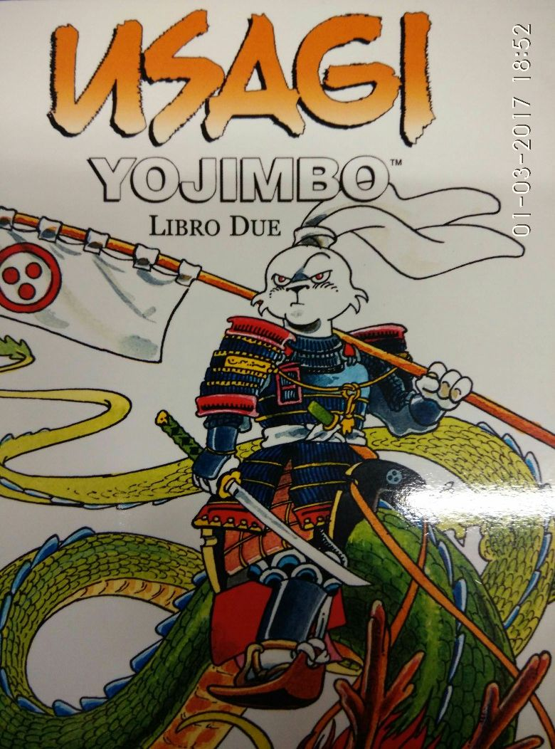 Usagi Yojimbo libro due