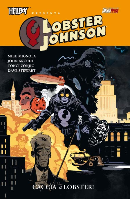 Hellboy presenta Lobster Johnson 4 Caccia a Lobster