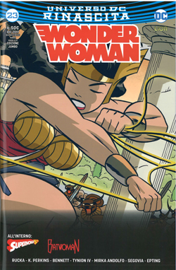 Wonder Woman 23 (55) Rinascita - Cofanetto