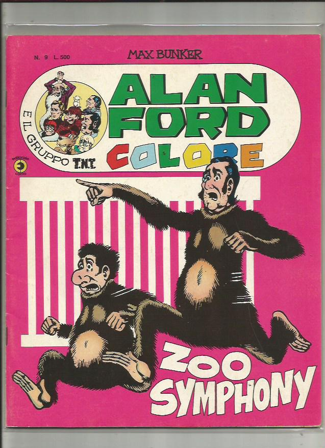 Alan Ford Colore n. 9 - ZOO Symphony