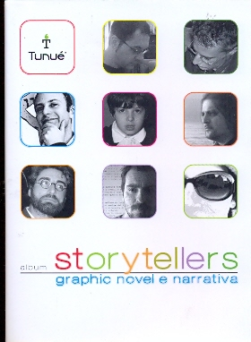 Album Storytellers - Graphyc Novel E Narrativa
