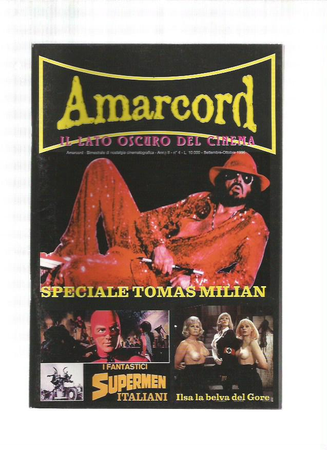 Amarcord n. 4 - 1996 - Speciale Thomas Milian