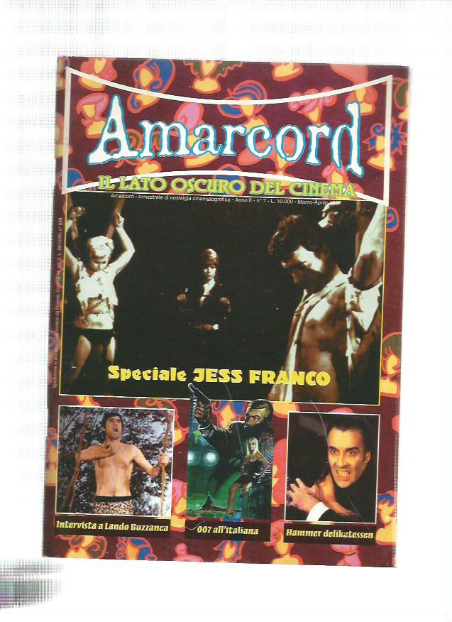 Amarcord n. 7 - 1997 - Speciale Jess Franco