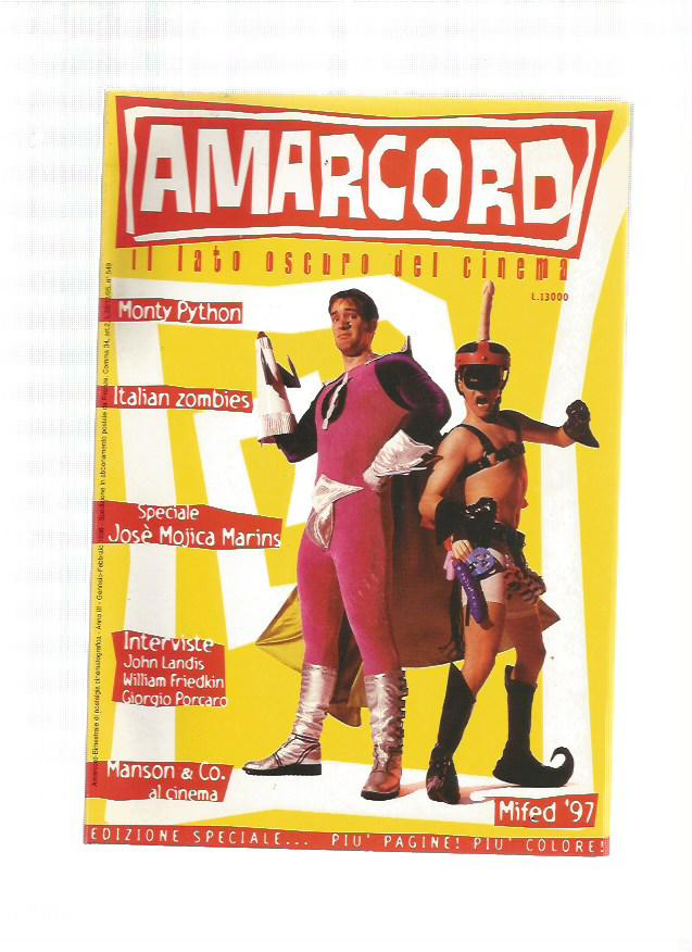Amarcord n.11 - 1998 - Italian Zombies