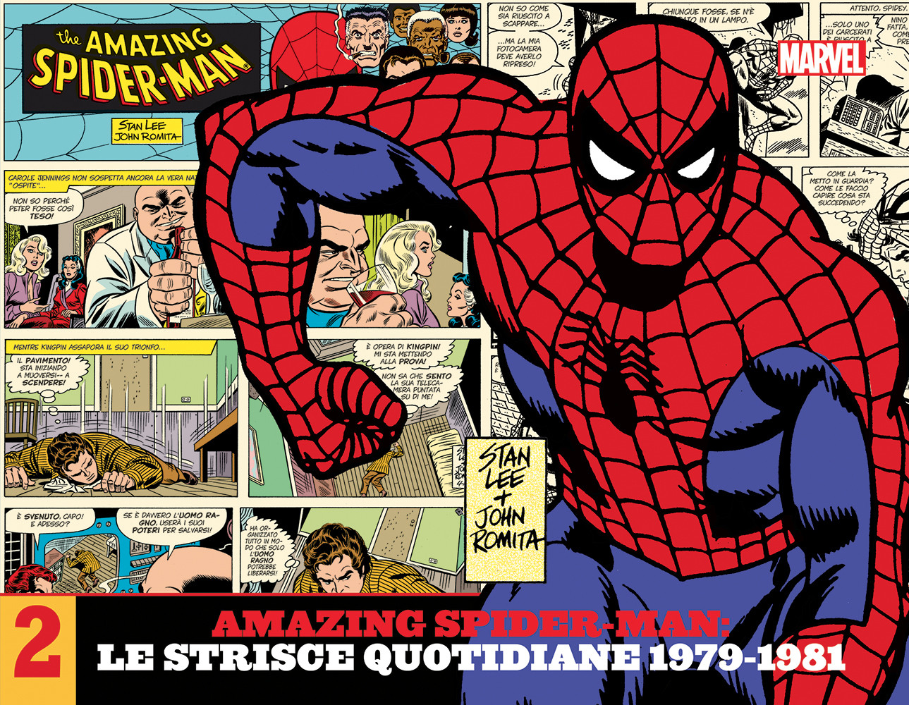 Amazing Spider-Man Le Strisce Quotidiane 2