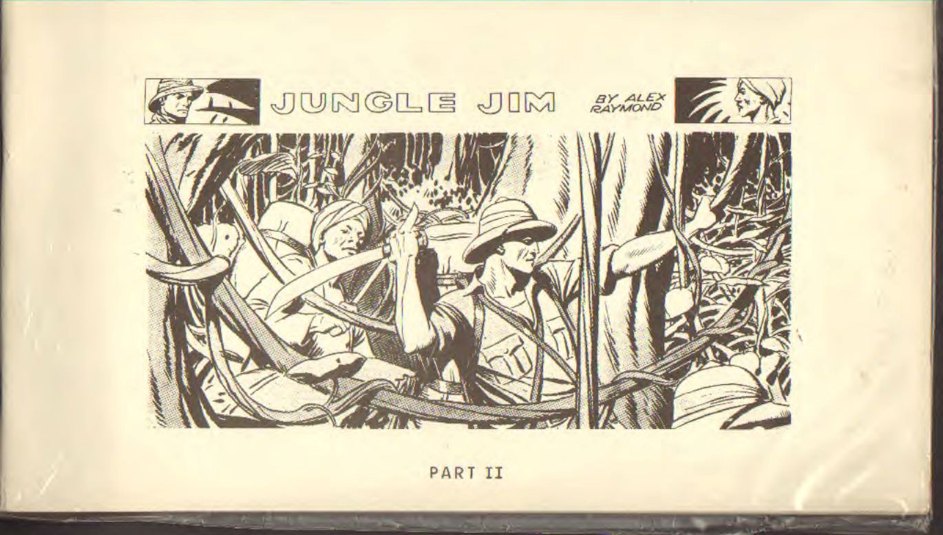 Jungle Jim by Alex Raymond part II
