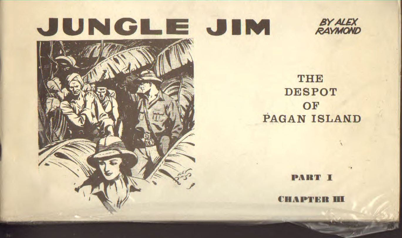 Jungle Jim by Alex Raymond the deapot of pagan island