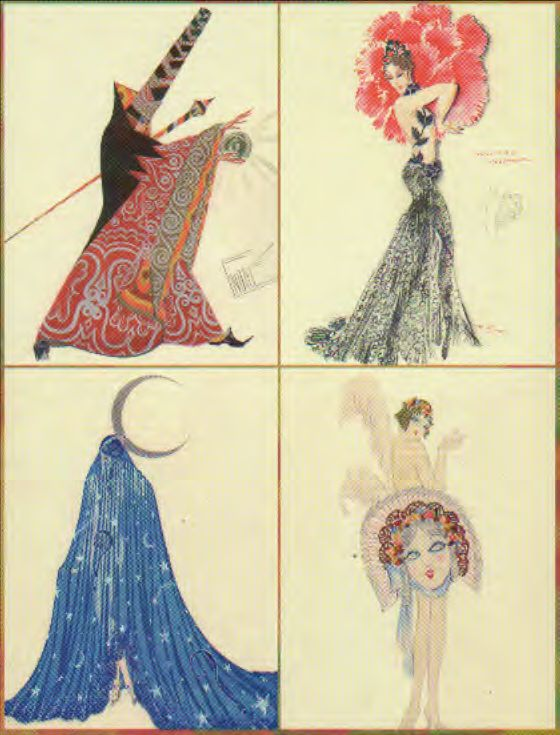 Non solo Ertè –Costume Design for the Paris Music Hall 1918-1940