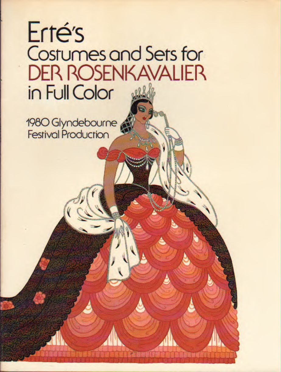 Erté's – Costumes and Sets for Der Rosenkavalier in full color