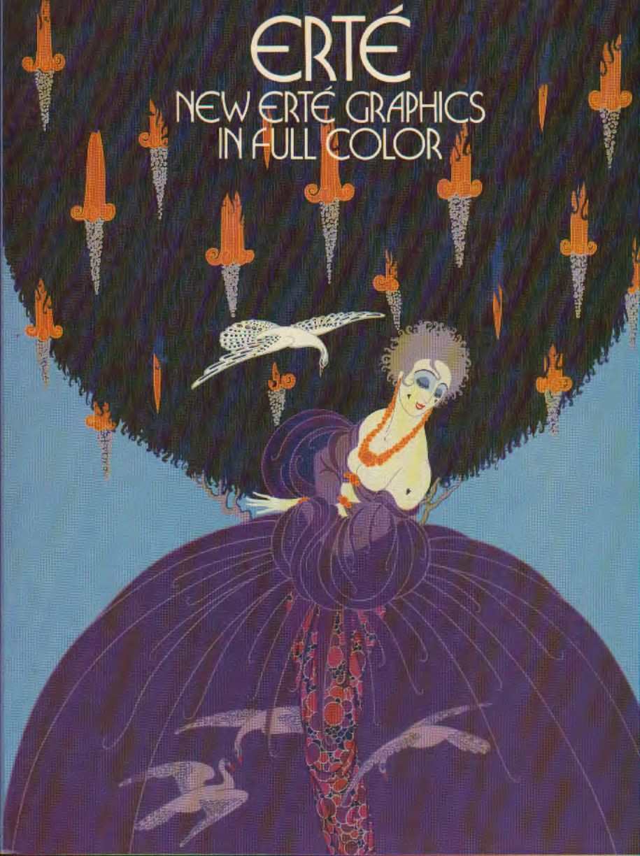 Erté – New Erté graphics in full color