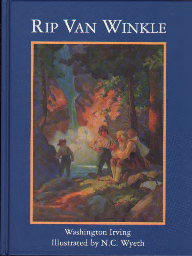 Rip Van Winkle – Illustrated N.C. Wyeth