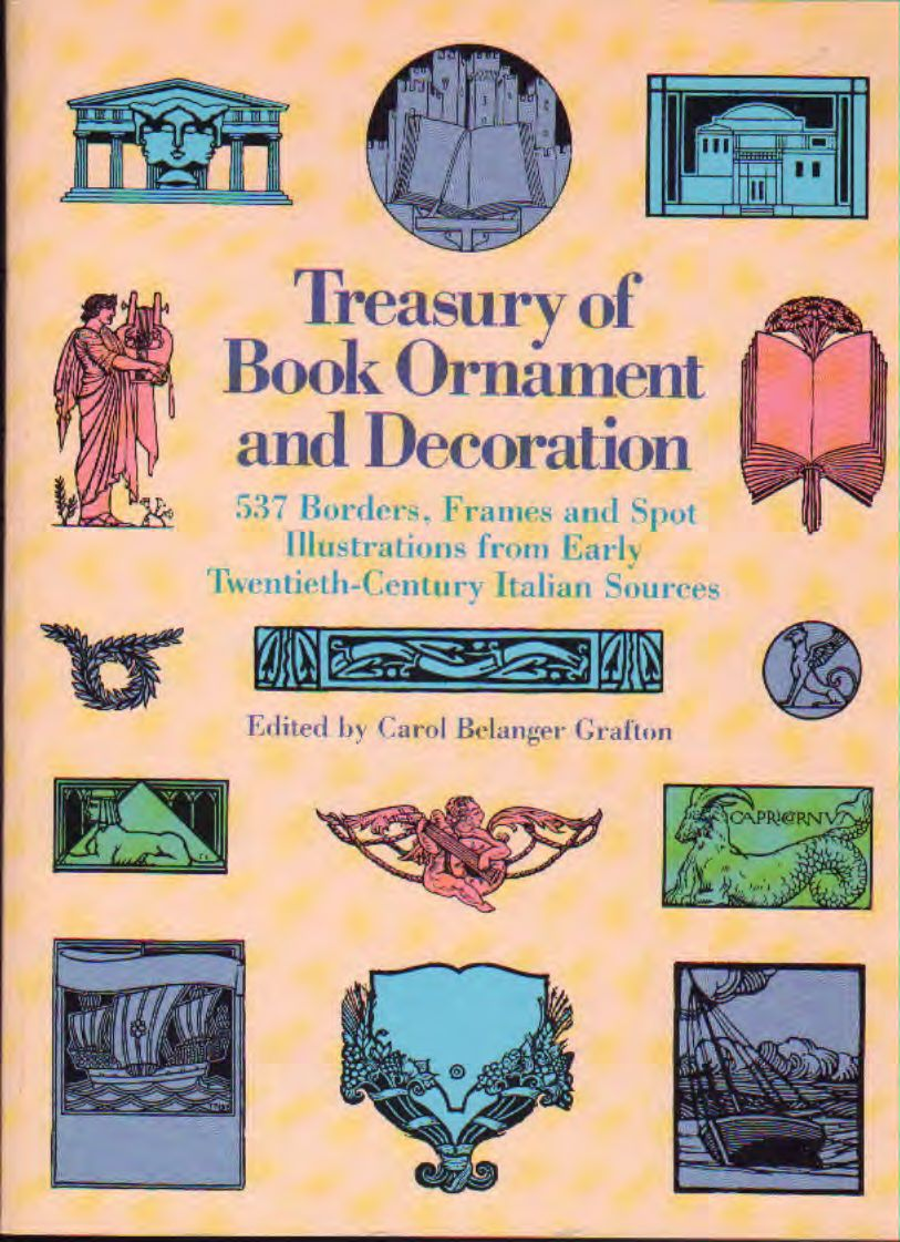 Treasury of Book Ornament and Decoration – Ex Libris