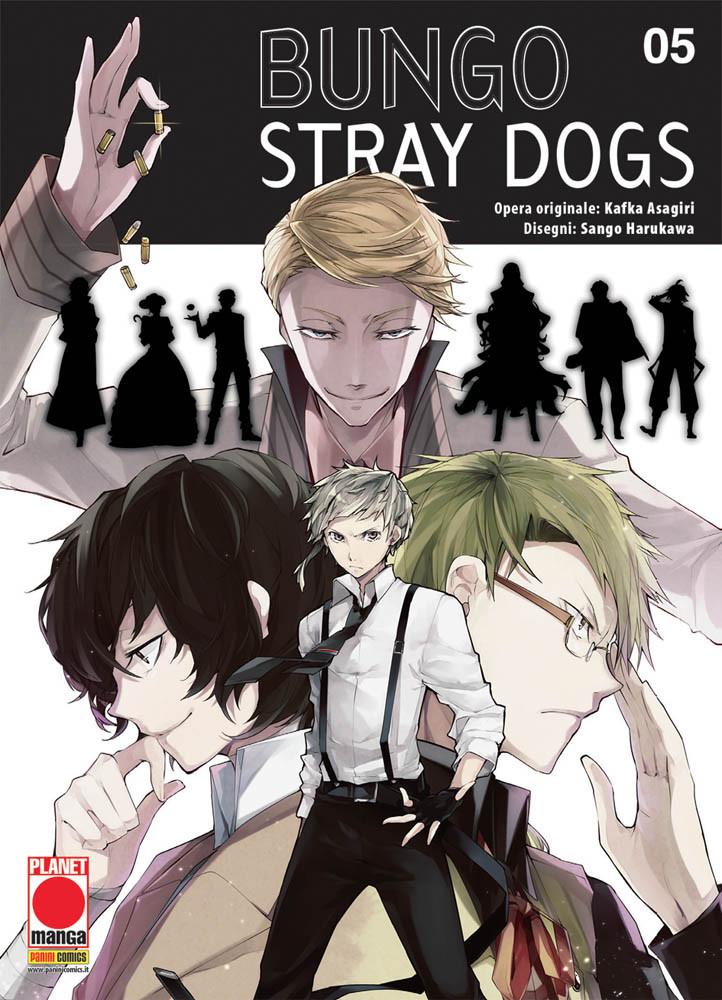 Bungo stray dogs 5