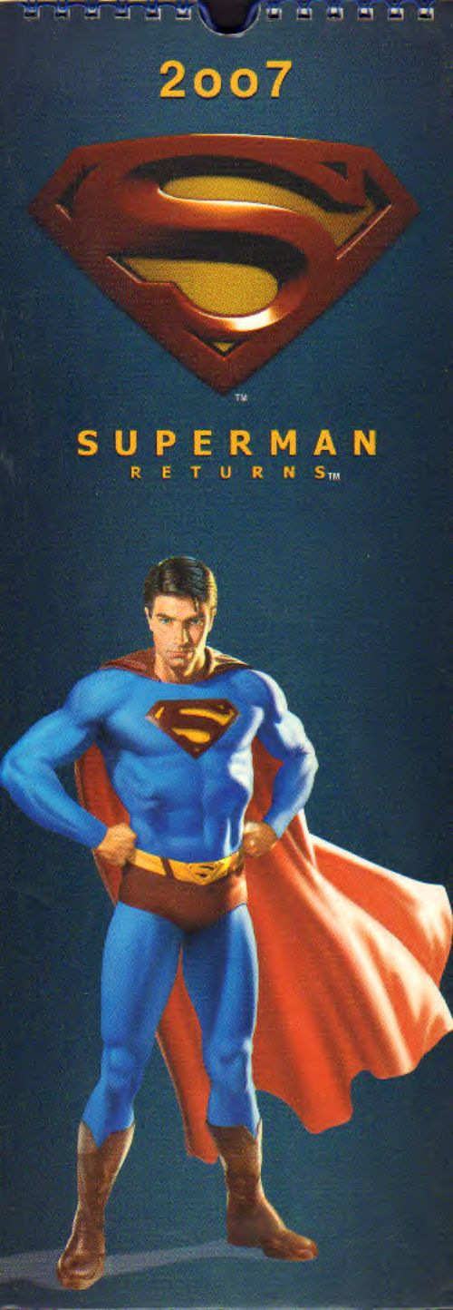 AAVV - Superman returns Calendar 2007