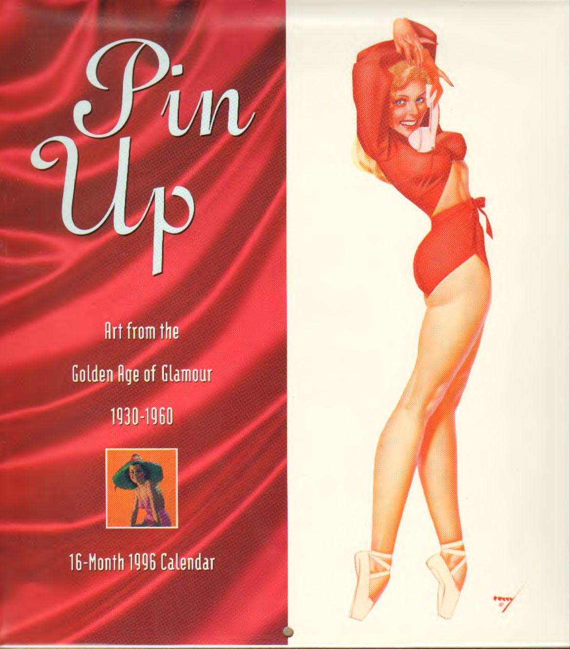 AA.VV - Pin Up Golden Age of Glamour – 16 Month 1996 Calendar