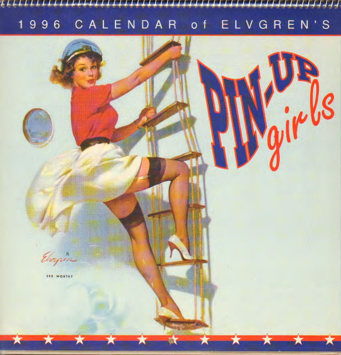 Elvgren - Pin-Up Girls Calendar 1996