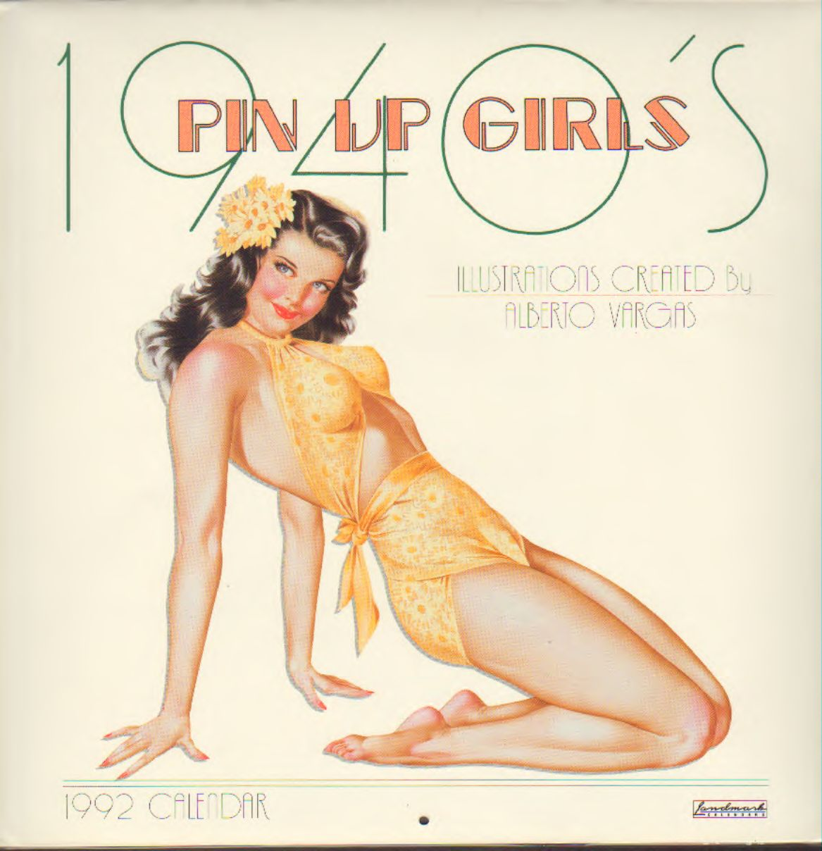 Vargas - 1940's Pin Up Girls Calendar 1992