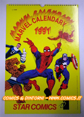 AAVV - Marvel Calendary 1991