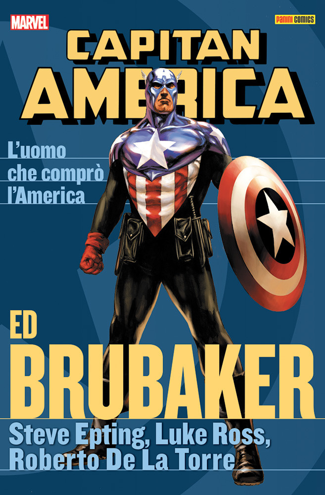Capitan America Ed Brubacker Collection 8 L'uomo che comprò l'Am
