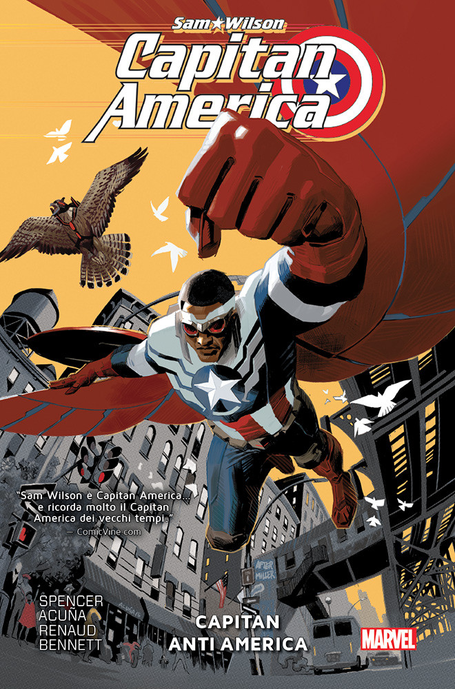 Captain America Sam Wilson 1 Capitan Anti America