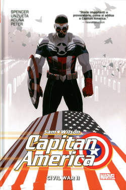 Capitan America Sam Wilson 3 Marvel Collection