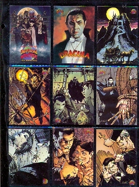 Card Set - Universal Monster Illustrated