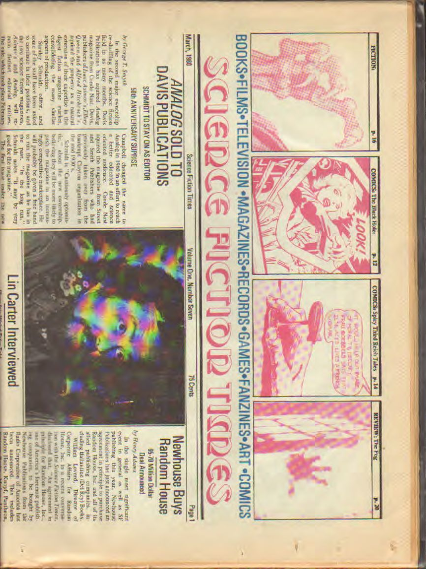 AAVV - Science Fiction Times n.7 - 1980