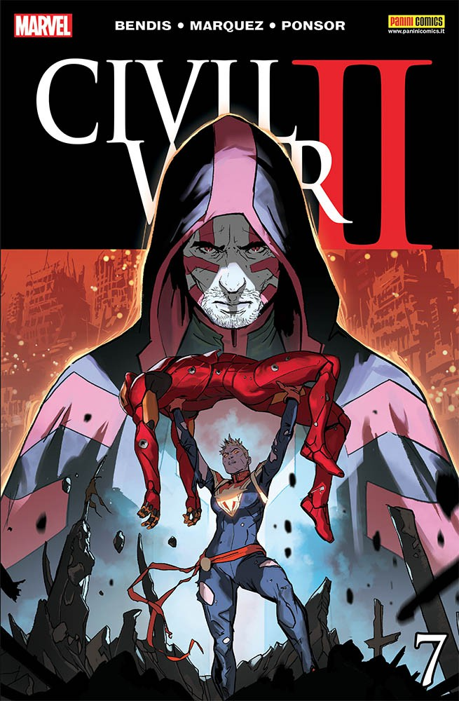 Marvel Miniserie 182 Civil War Ii 7