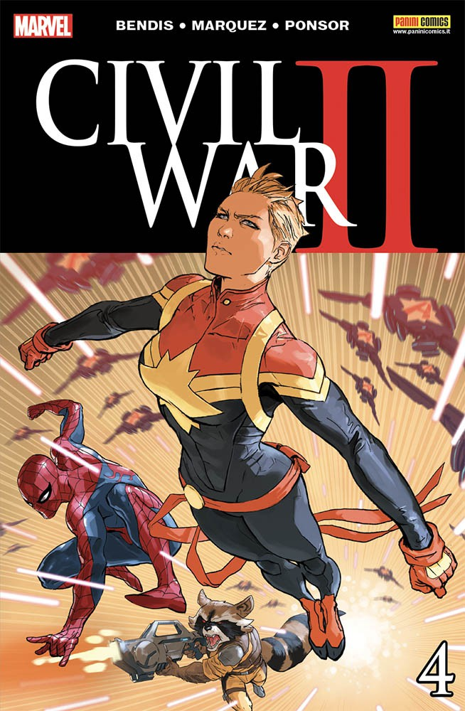 Civil War II 4 Marvel Miniserie 179