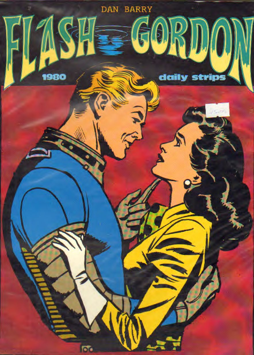 FLASH GORDON 1980 (strisce giornaliere) di Barry e Fujitani