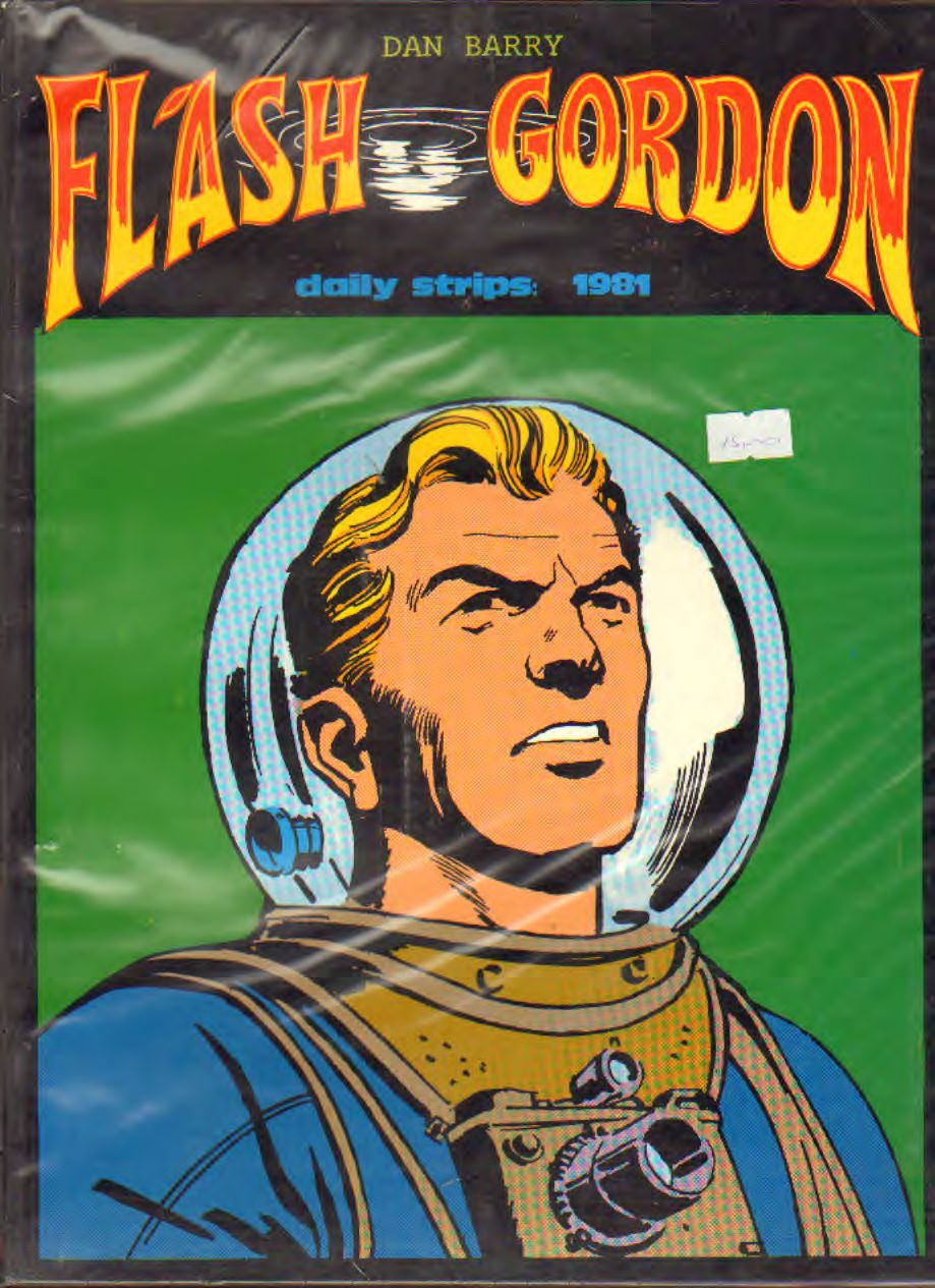 FLASH GORDON 1981 (strisce giornaliere) di Barry e Fujitani