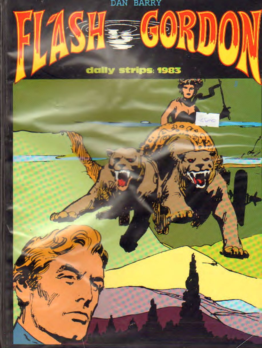 FLASH GORDON 1983 (strisce giornaliere) di Barry e Fujitani