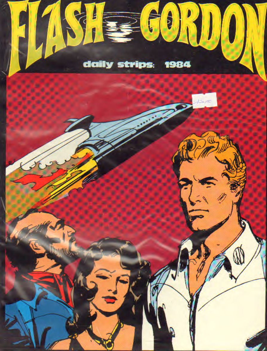 FLASH GORDON 1984 (strisce giornaliere) di Barry e Fujitani
