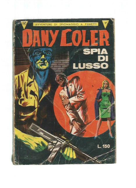 Dany Coler n. 7 - Spia di lusso - Cofedit