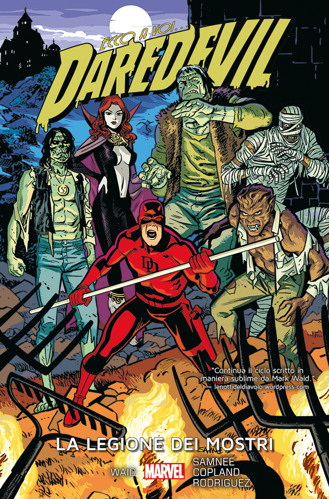 Daredevil 7 La legione dei mostri Marvel Collection