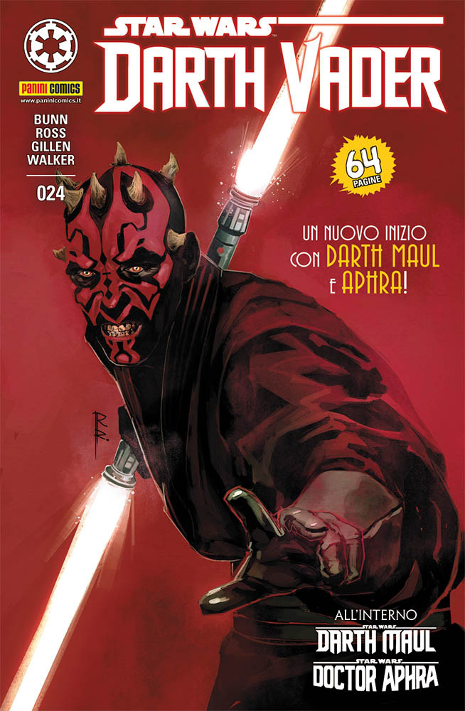 Darth Vader 24 Darth Maul e Doctor Aphra