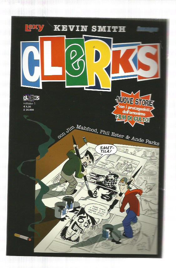 CLERKS n. 1/2 BLUNTMAN and CHRONIC serie completa