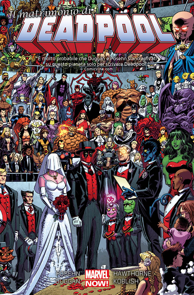 Deadpool 5 il matrimonio Marvel Collection