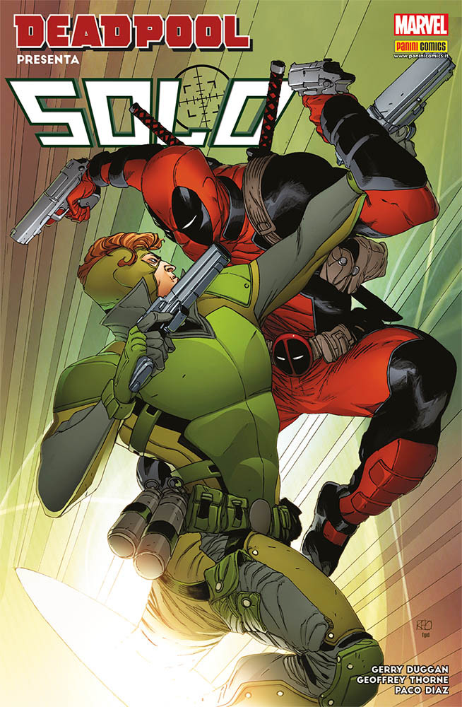 Deadpool Presenta: Solo - Marvel Icon 36
