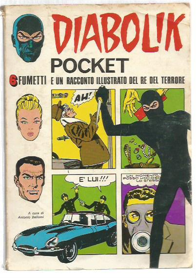 Horror Pocket supplemento - Diabolik pocket n. 1 (suppl. al n.4)