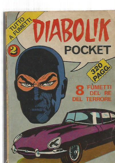 Horror Pocket supplemento - Diabolik pocket n. 2 (suppl. al n.11