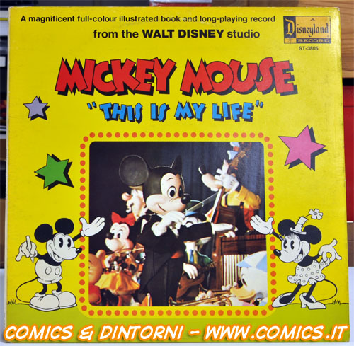 "Mickey Mouse ""This is my life"""
