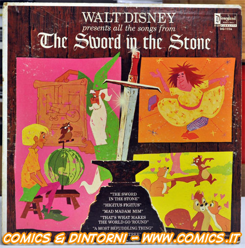 All the song from The Sword in the Stone