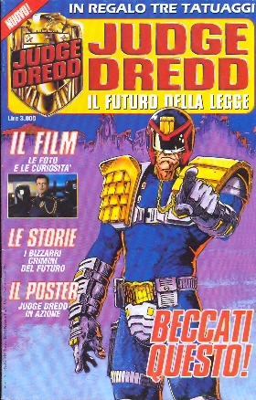 Judge Dredd n. 1/3 + Il film limited